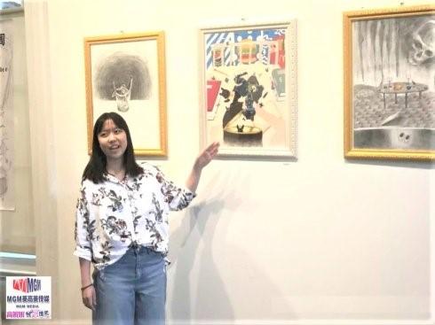 高娓娓:美中文化周青少年插画艺术展开幕_图1-6