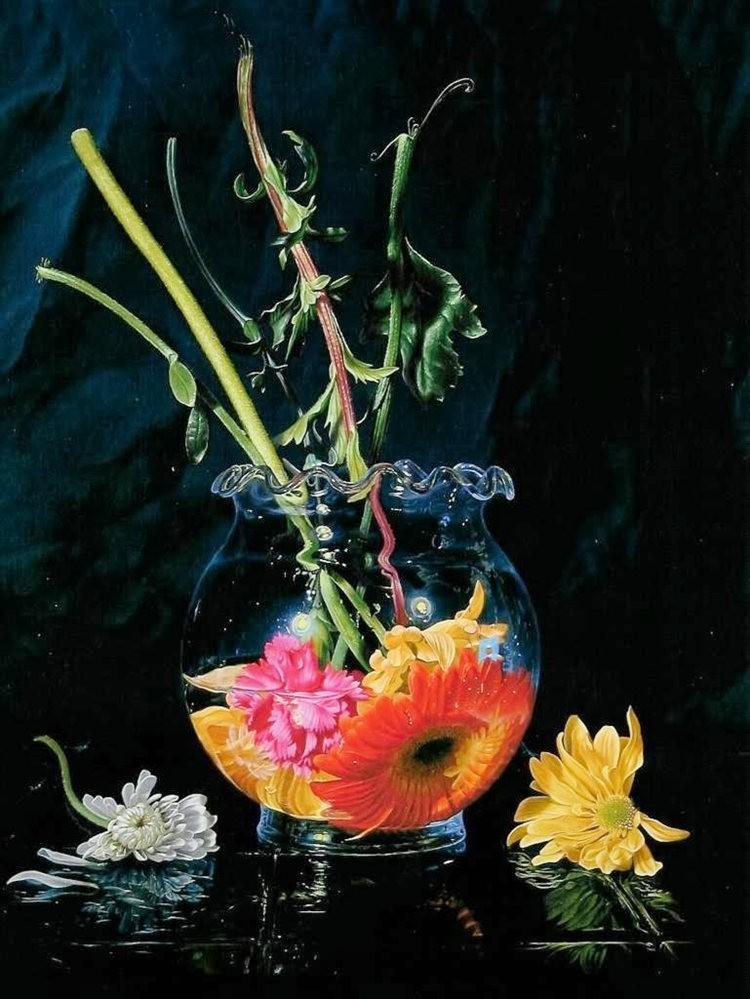 超现实的花卉植物画作_图1-2