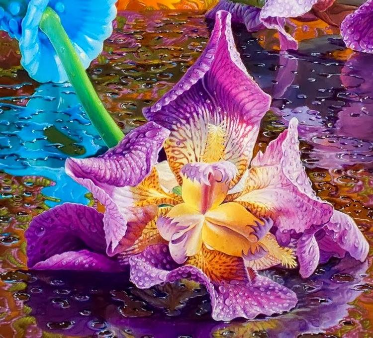 超现实的花卉植物画作_图1-5