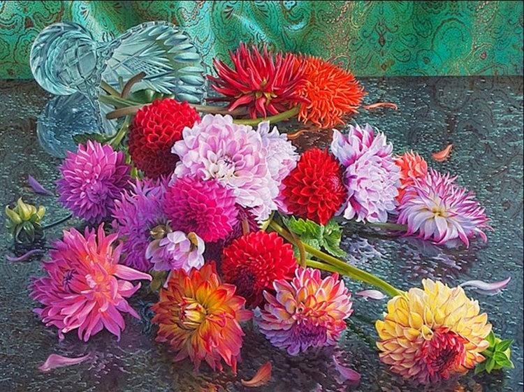 超现实的花卉植物画作_图1-6