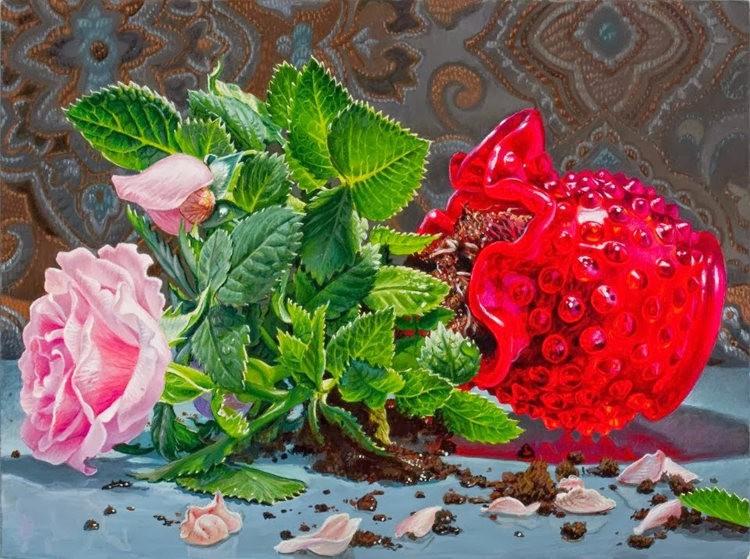 超现实的花卉植物画作_图1-11