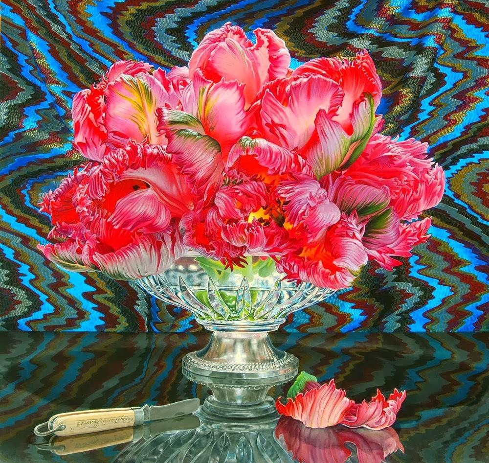 超现实的花卉植物画作_图1-15