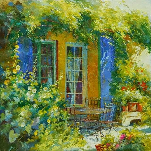 比利时画家约翰Messely_图1-1