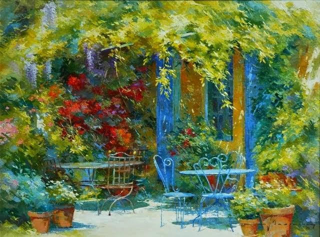 比利时画家约翰Messely_图1-2
