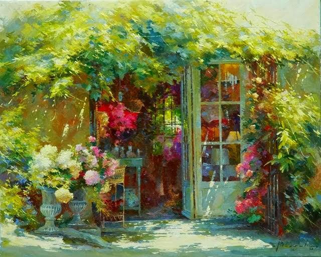 比利时画家约翰Messely_图1-3