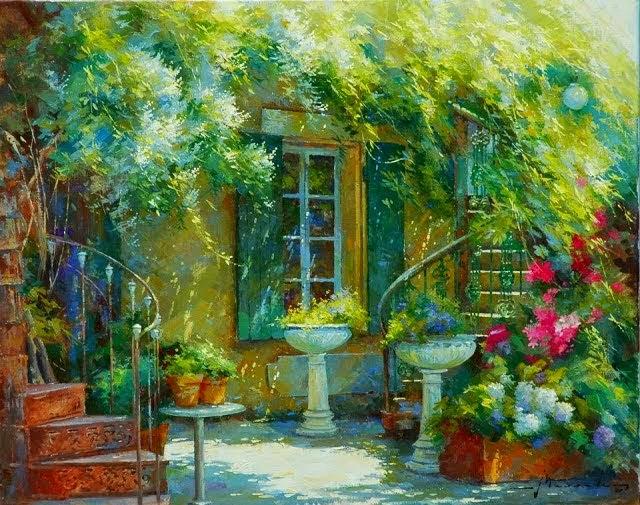 比利时画家约翰Messely_图1-4