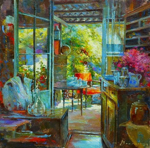 比利时画家约翰Messely_图1-7