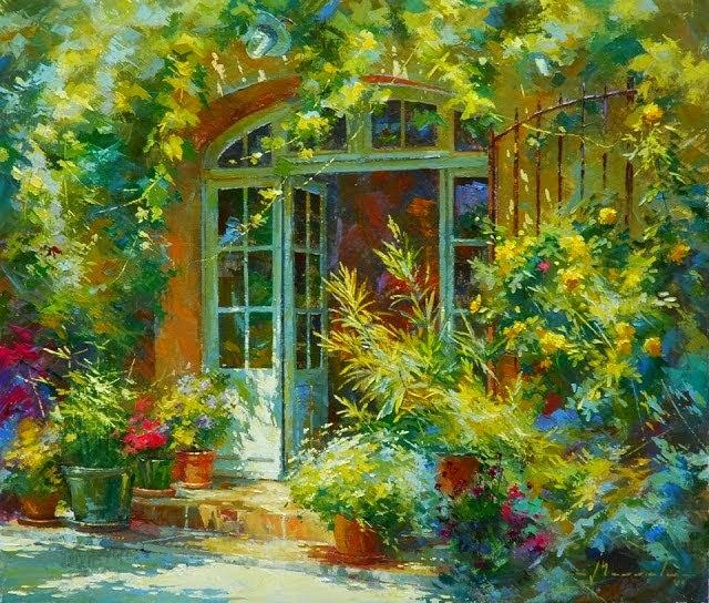 比利时画家约翰Messely_图1-8