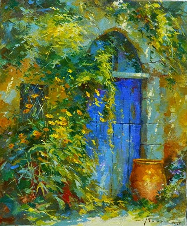 比利时画家约翰Messely_图1-10