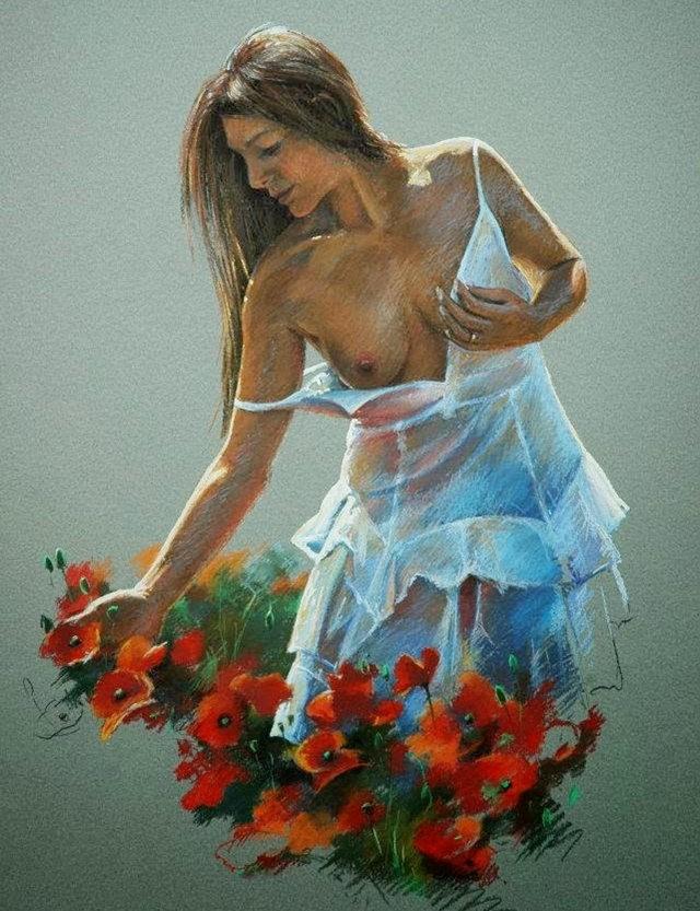 比利时画家约翰Messely_图1-14