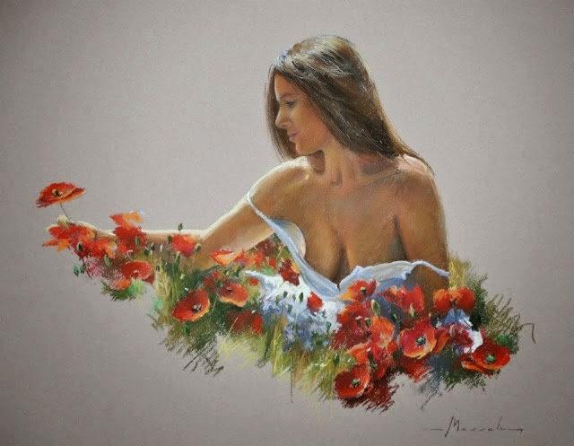 比利时画家约翰Messely_图1-15