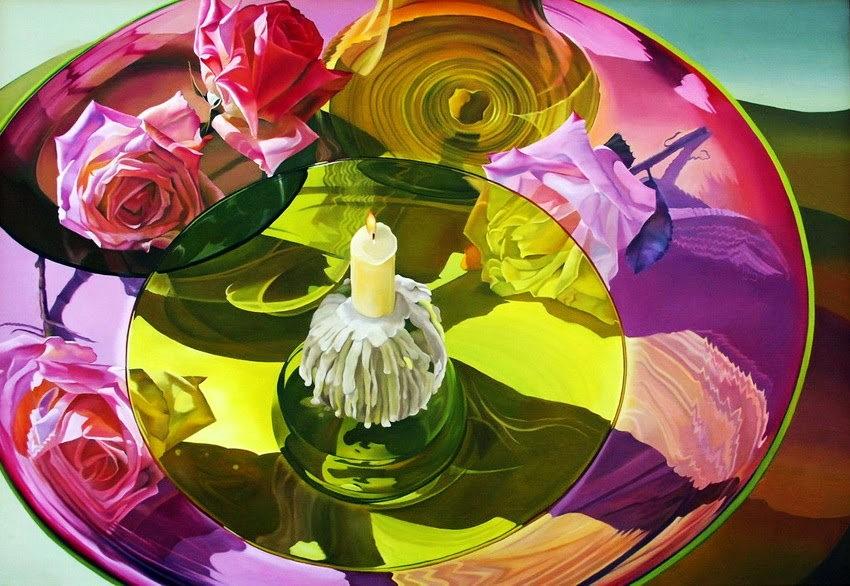 女艺术家希拉里.艾迪绘画作品_图1-31