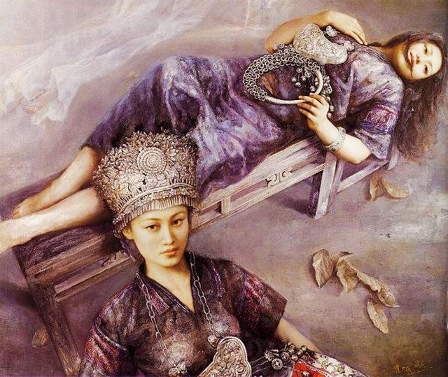 中国画家赵春的作品_图1-3