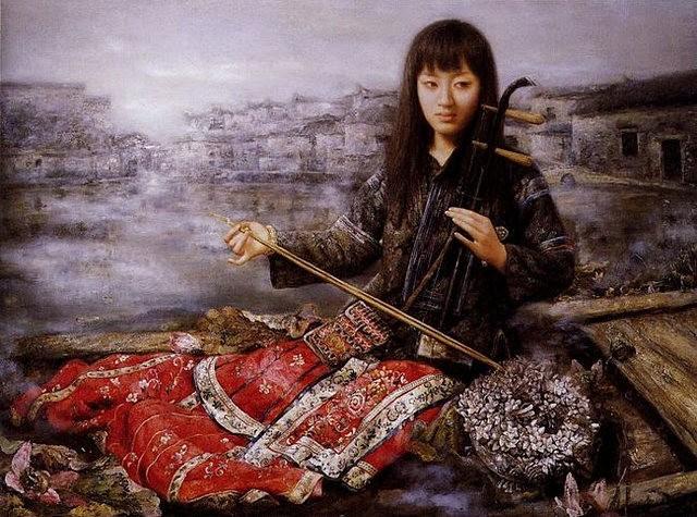 中国画家赵春的作品_图1-5