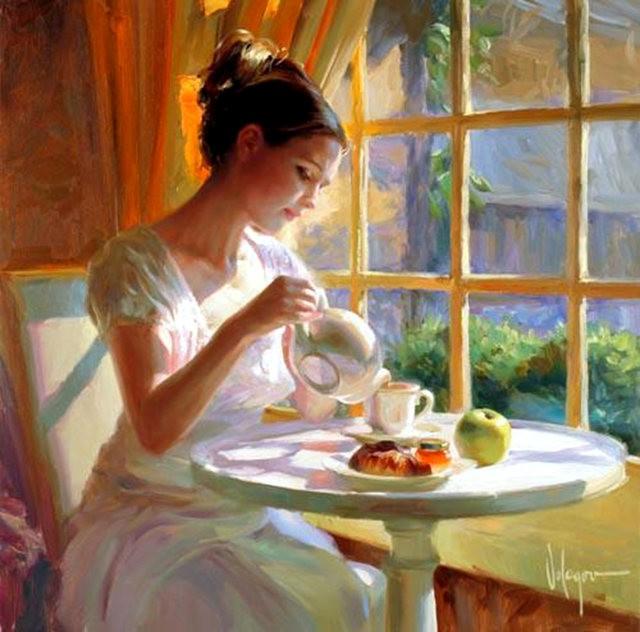 俄罗斯近代画家---弗拉基米尔Volegov_图1-2