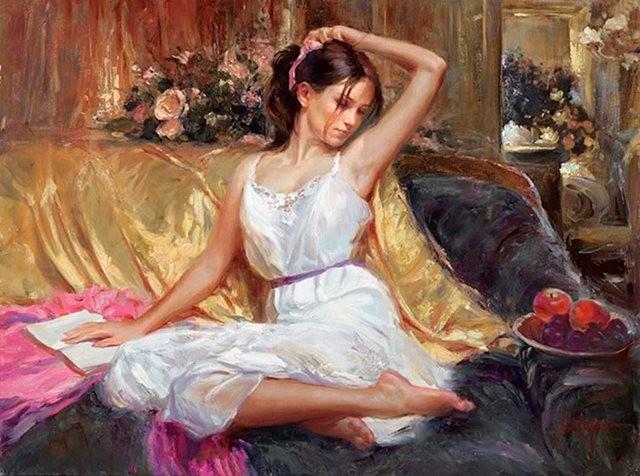 俄罗斯近代画家---弗拉基米尔Volegov_图1-6