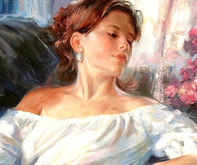 俄罗斯近代画家---弗拉基米尔Volegov_图1-11