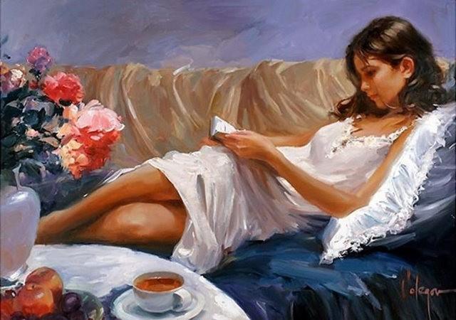 俄罗斯近代画家---弗拉基米尔Volegov_图1-15
