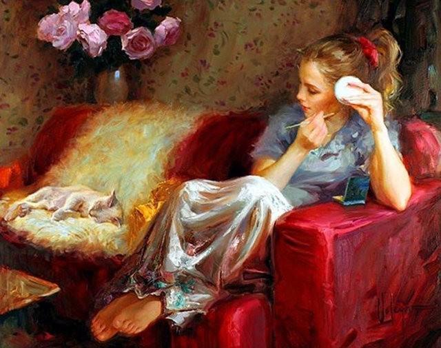 俄罗斯近代画家---弗拉基米尔Volegov_图1-16