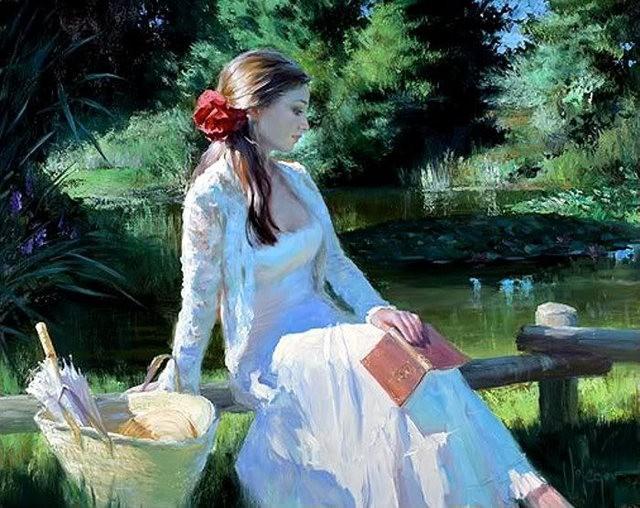 俄罗斯近代画家---弗拉基米尔Volegov_图1-17