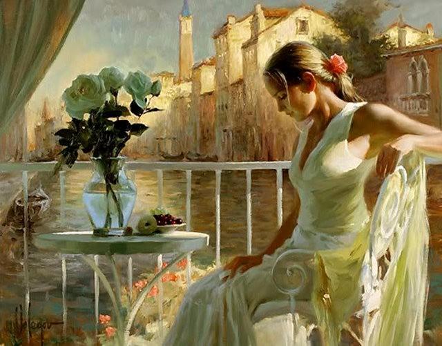 俄罗斯近代画家---弗拉基米尔Volegov_图1-18