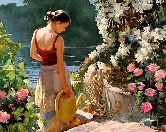 俄罗斯近代画家---弗拉基米尔Volegov_图1-19