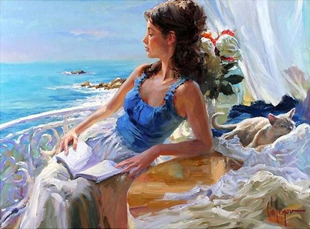 俄罗斯近代画家---弗拉基米尔Volegov_图1-22