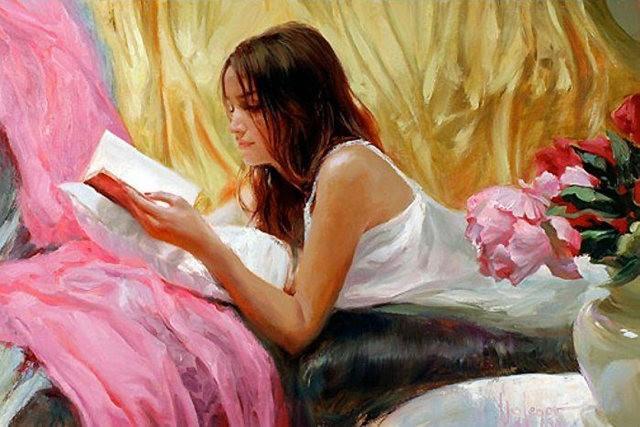 俄罗斯近代画家---弗拉基米尔Volegov_图1-26
