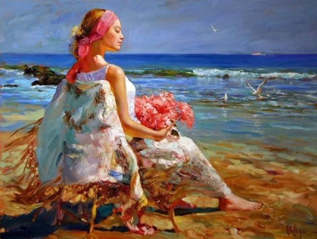俄罗斯近代画家---弗拉基米尔Volegov_图1-30