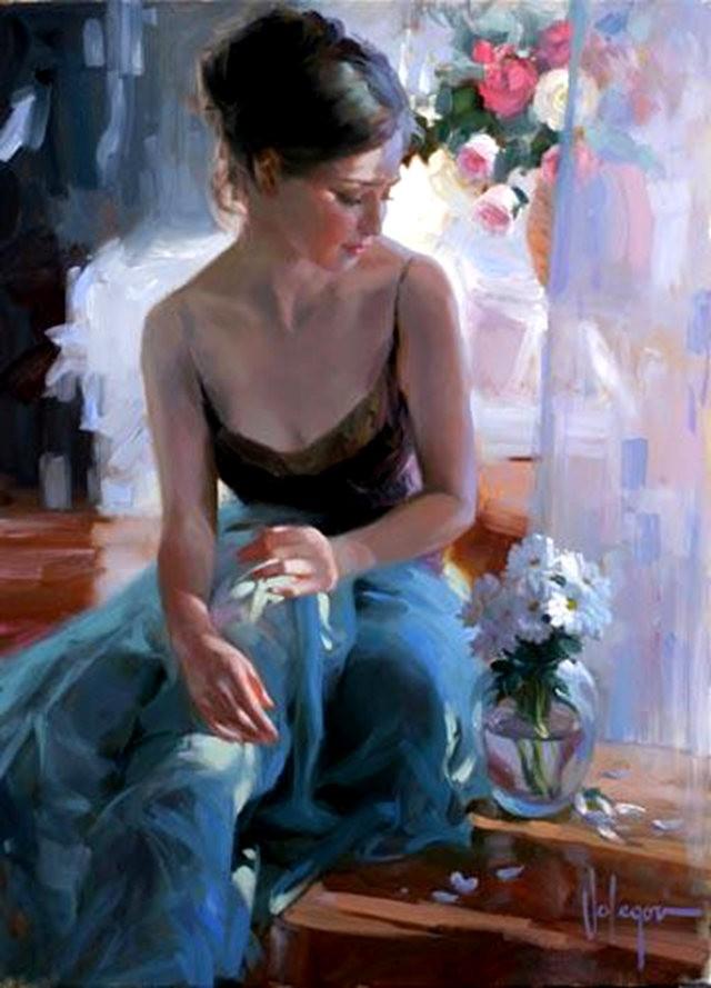 俄罗斯近代画家---弗拉基米尔Volegov_图1-31