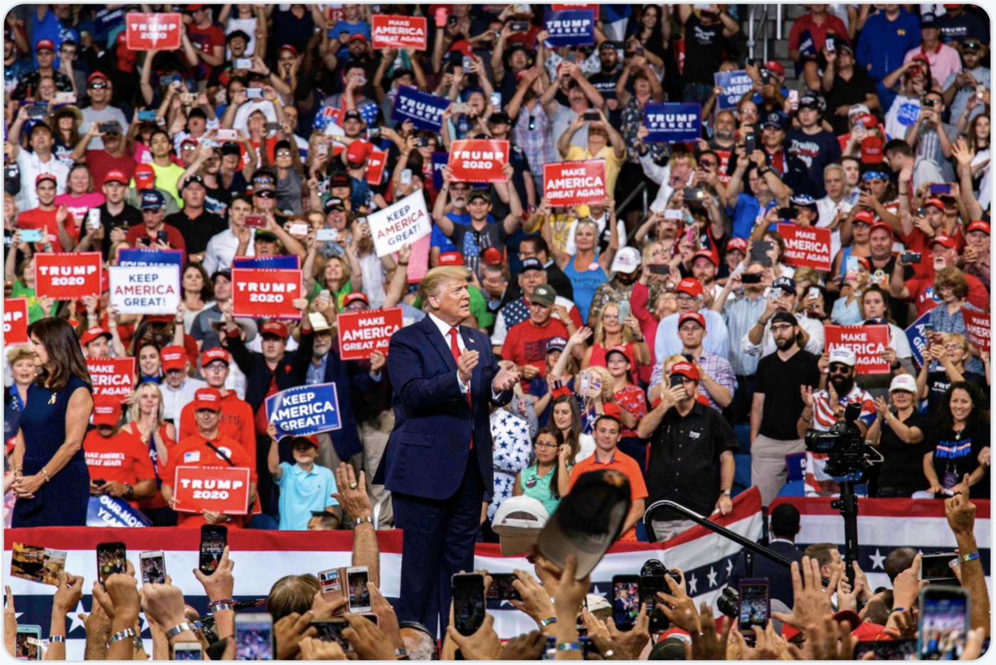 特朗普正式启动他的2020总统竞选_图1-1