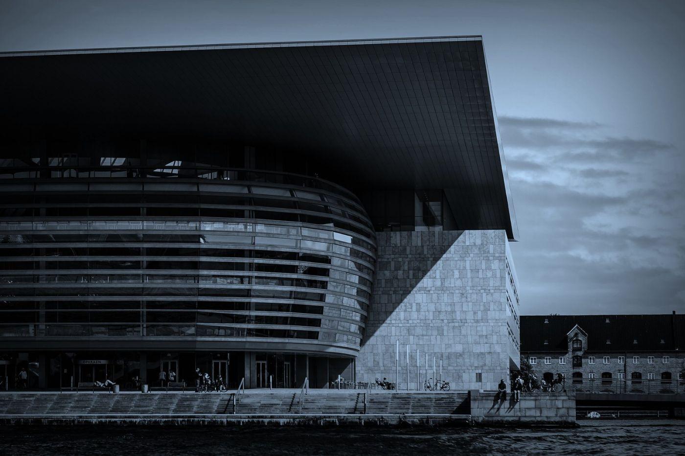 丹麦哥本哈根,坐船看市景_图1-5