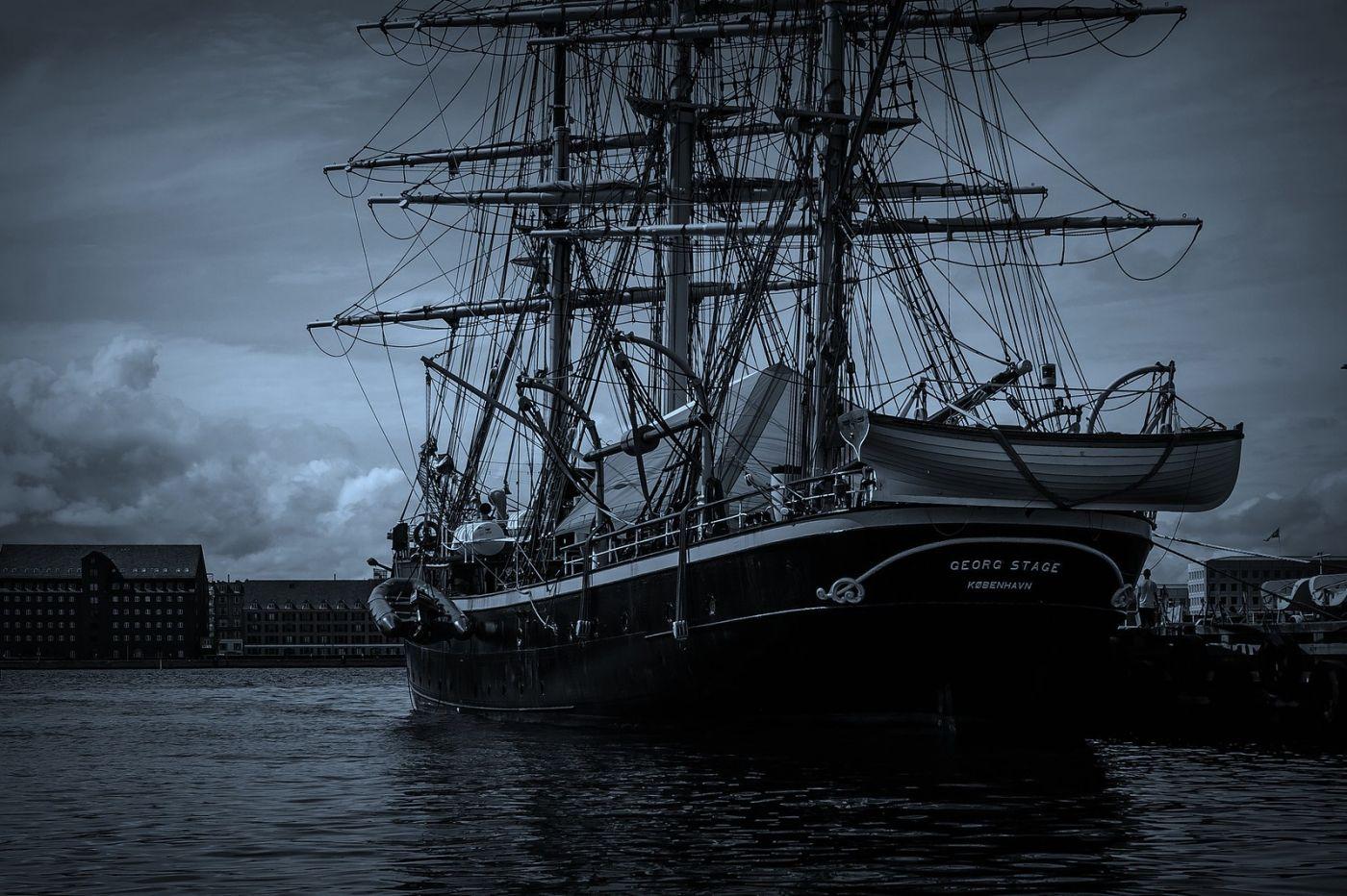 丹麦哥本哈根,坐船看市景_图1-12