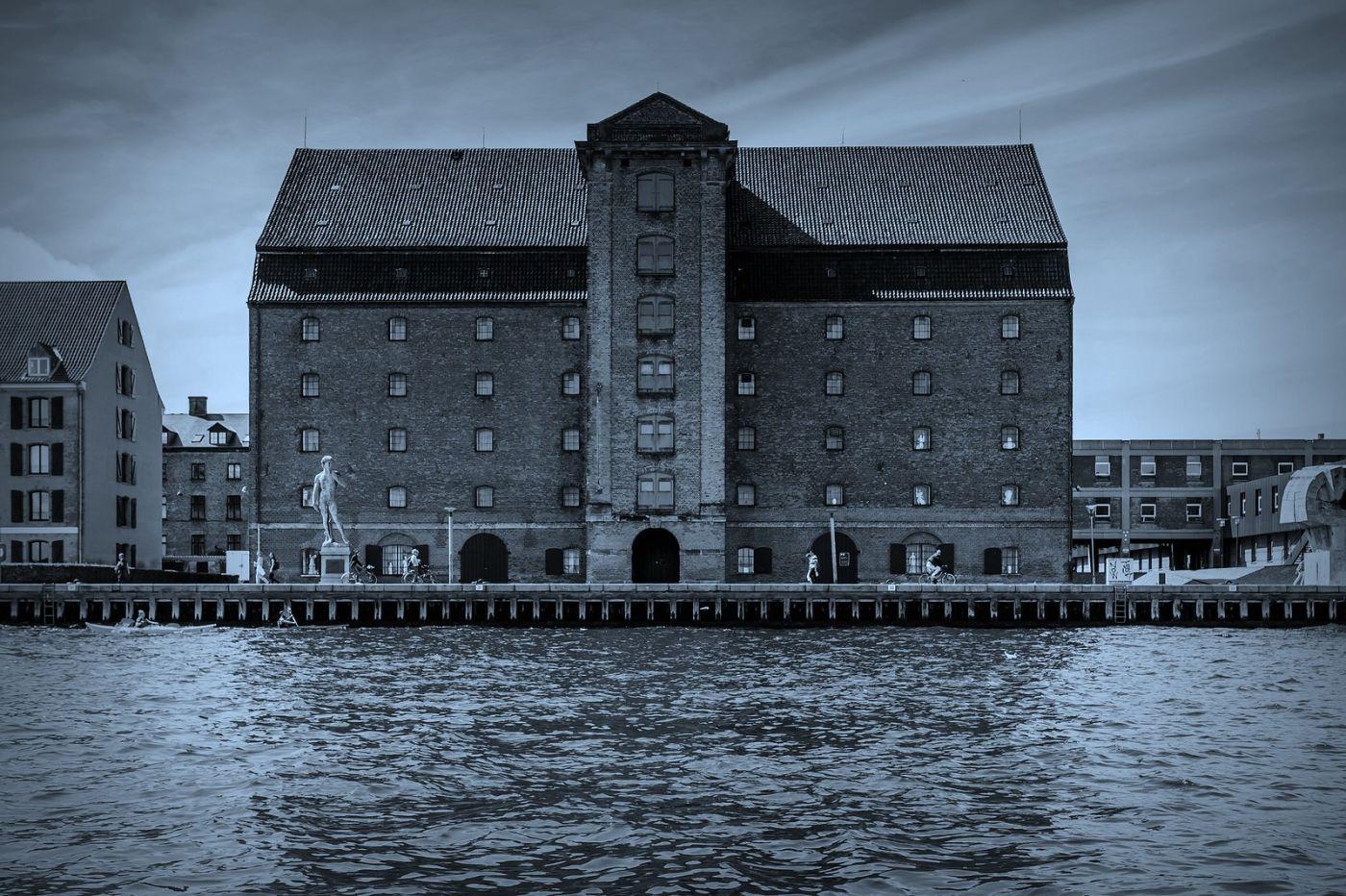 丹麦哥本哈根,坐船看市景_图1-38