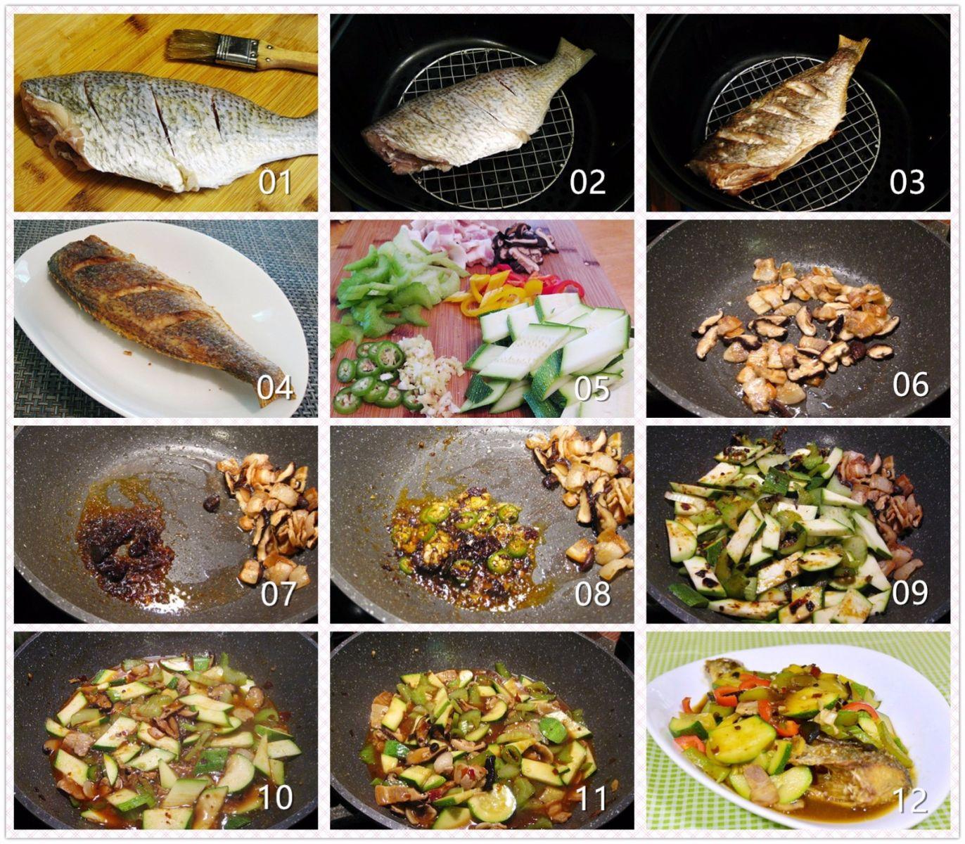 香辣蔬菜铺烤鱼_图1-2