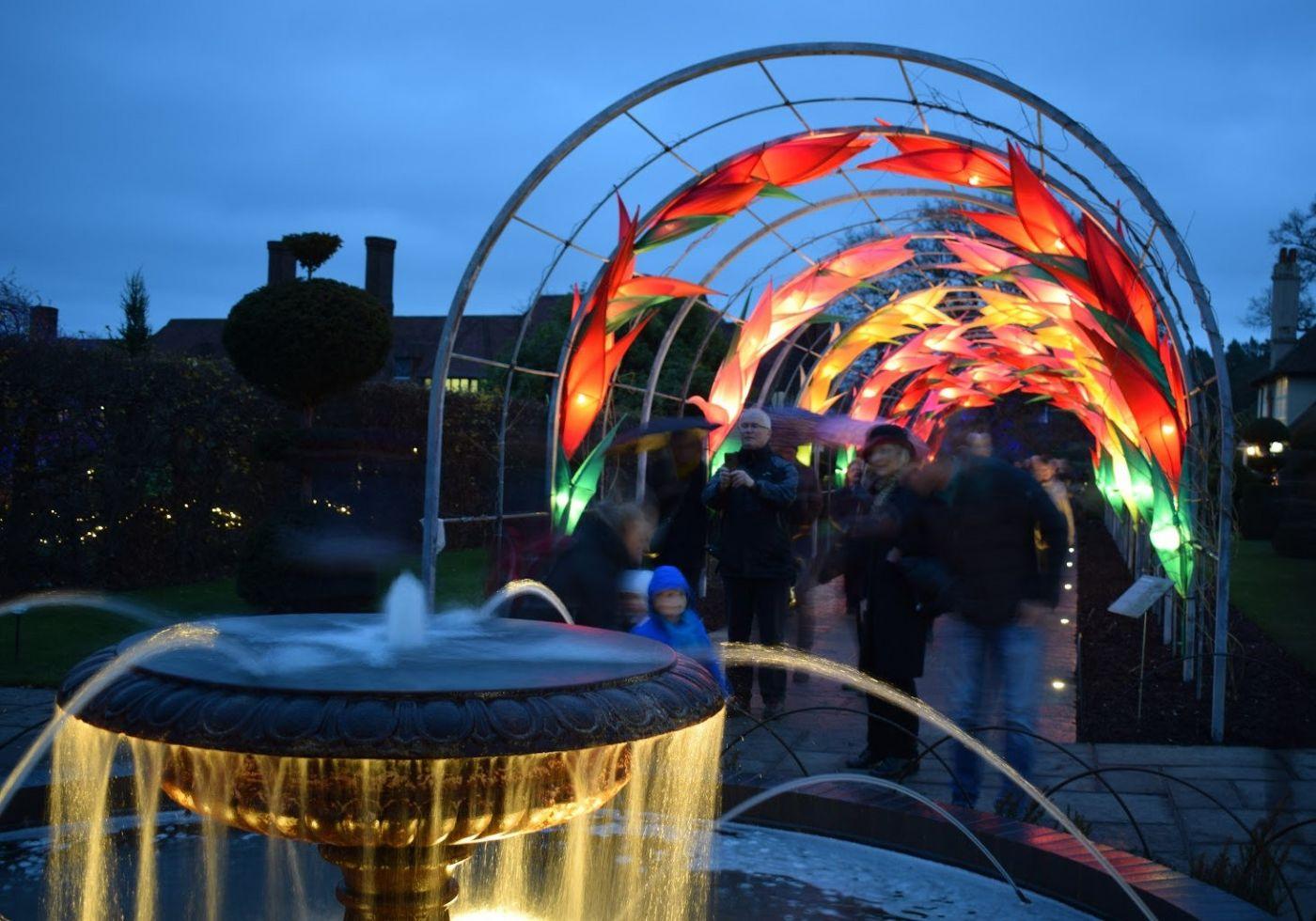 威斯利花园12月的晚上----精美与细致的典范_图1-3