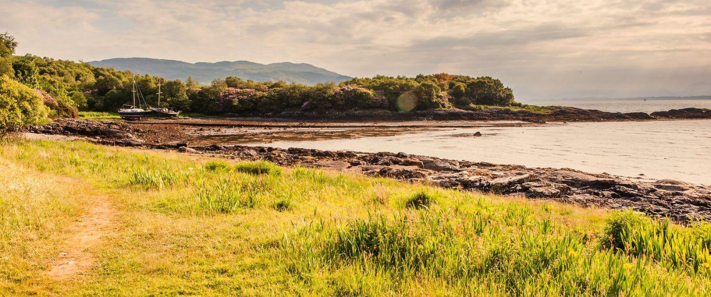 苏格兰马尔岛,面向大海_图1-8