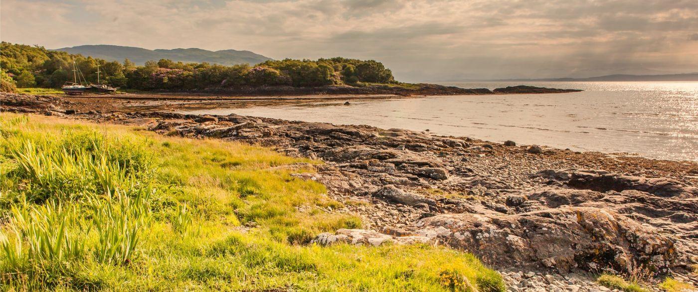 苏格兰马尔岛,面向大海_图1-4