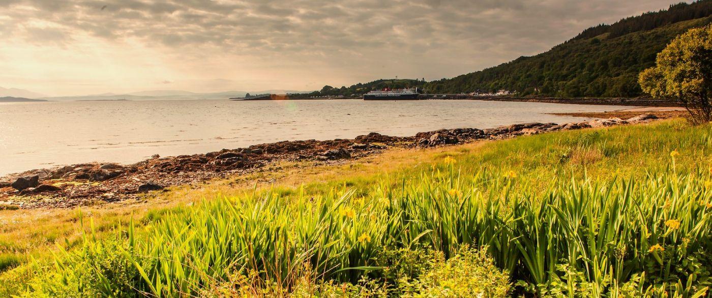 苏格兰马尔岛,面向大海_图1-5