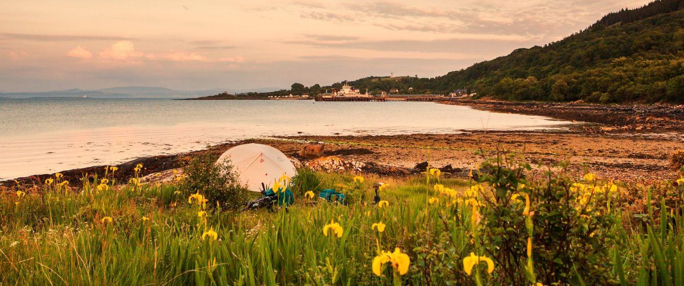 苏格兰马尔岛,面向大海_图1-12