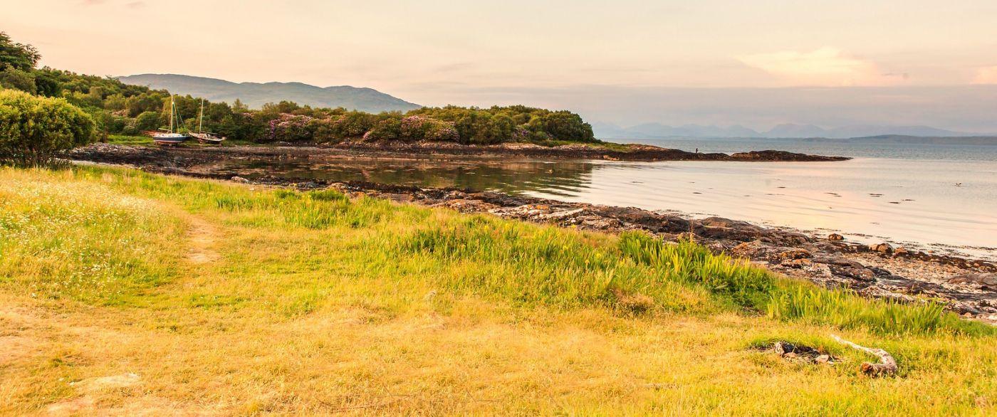 苏格兰马尔岛,面向大海_图1-16