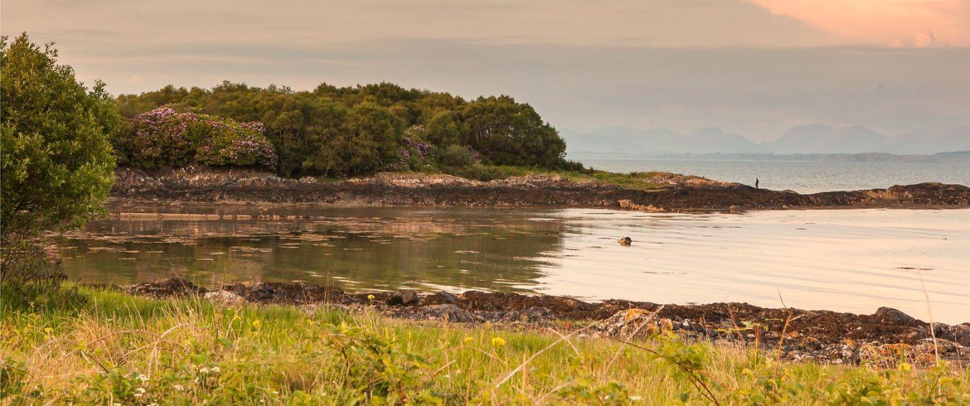 苏格兰马尔岛,面向大海_图1-17