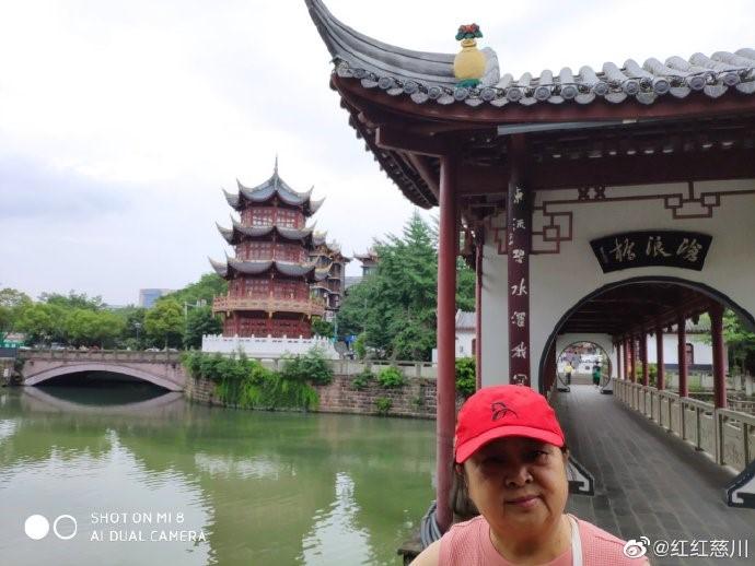 成都文化公园看荷花,百花坛公园呼吸新鲜空气!_图1-9