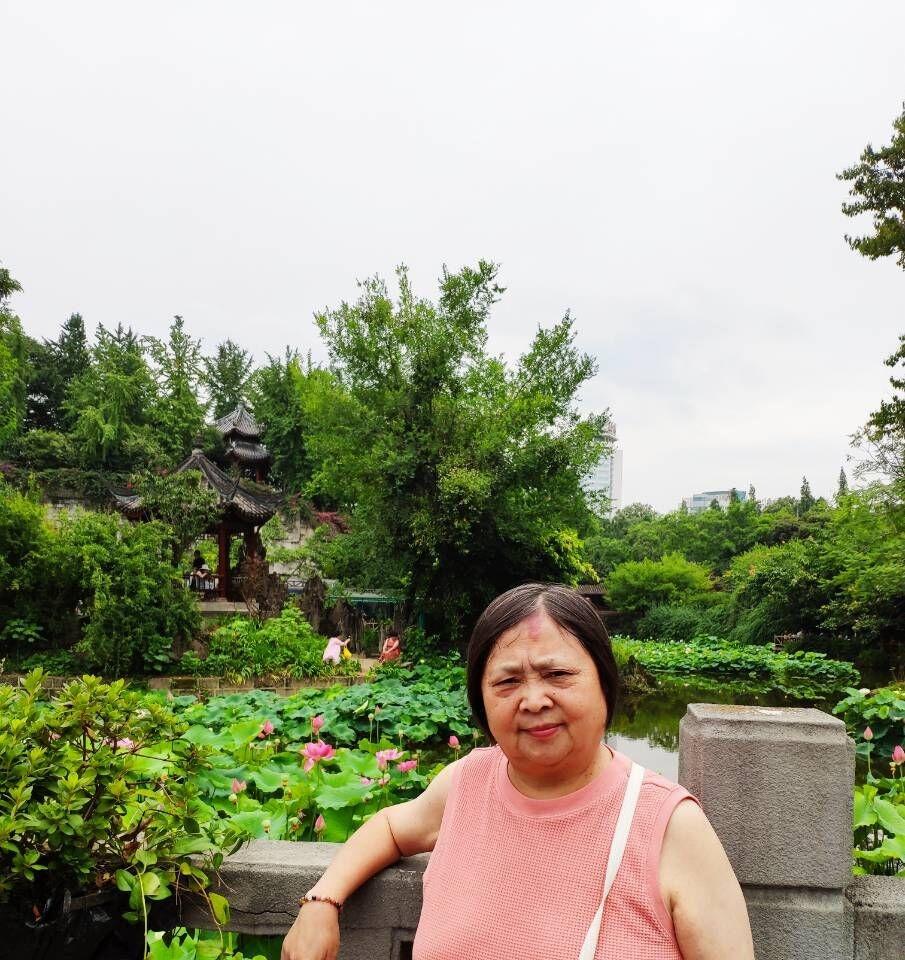成都文化公园看荷花,百花坛公园呼吸新鲜空气!_图1-13