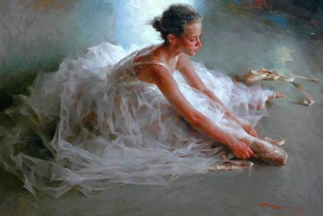 美籍华裔画家---斯蒂芬.潘的油画作品_图1-1