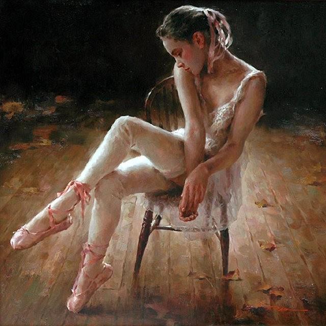 美籍华裔画家---斯蒂芬.潘的油画作品_图1-6