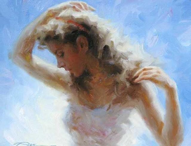 美籍华裔画家---斯蒂芬.潘的油画作品_图1-8
