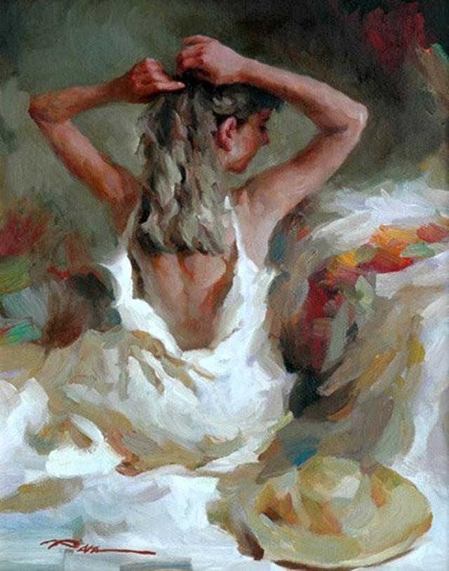 美籍华裔画家---斯蒂芬.潘的油画作品_图1-12