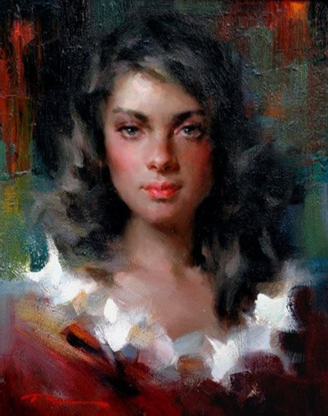 美籍华裔画家---斯蒂芬.潘的油画作品_图1-13