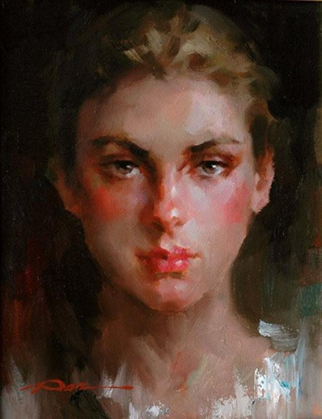 美籍华裔画家---斯蒂芬.潘的油画作品_图1-19